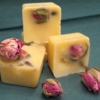 Blüten-Badewürfel Rose